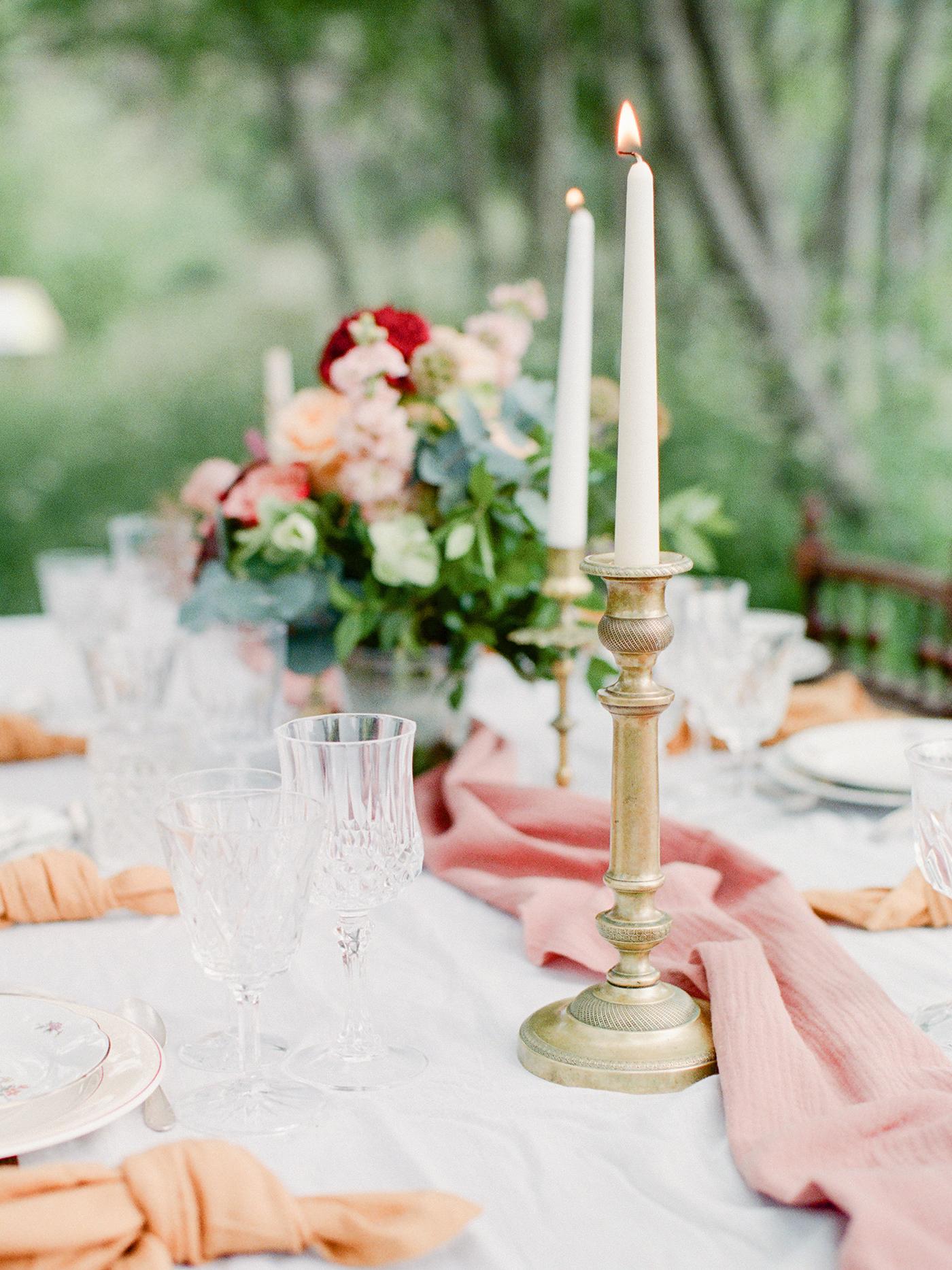 inspiration table romantique